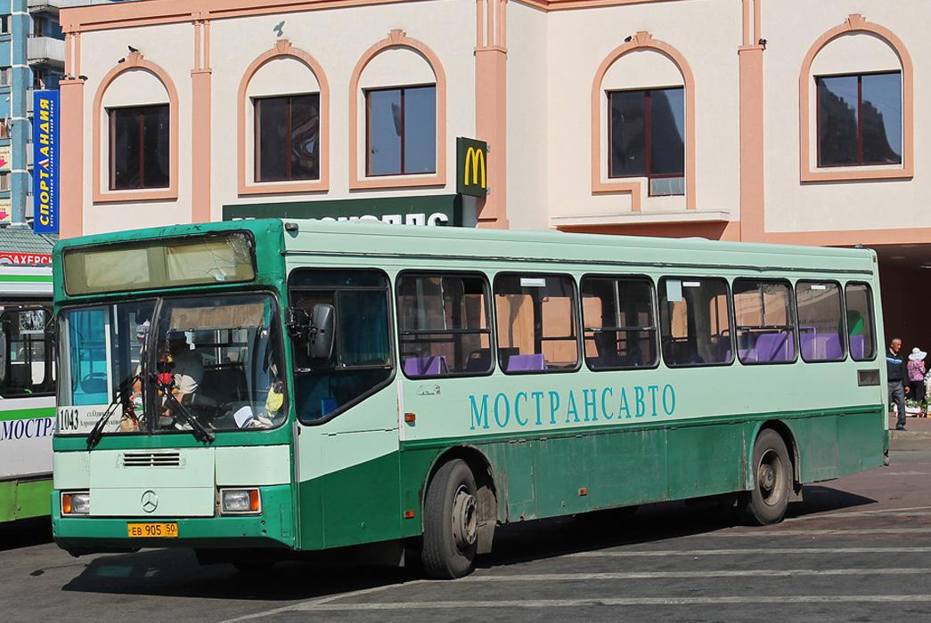 Маршрут автобуса 1044 Уборы  Одинцово Станция Одинцово