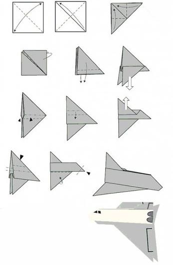 Инструкция Как Собрать Бумажный Самолет